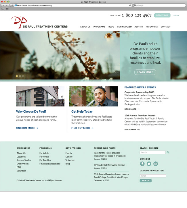 DP website