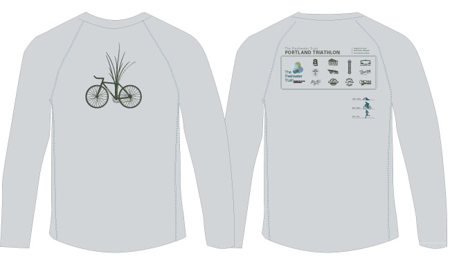 PDX triathlon jersey