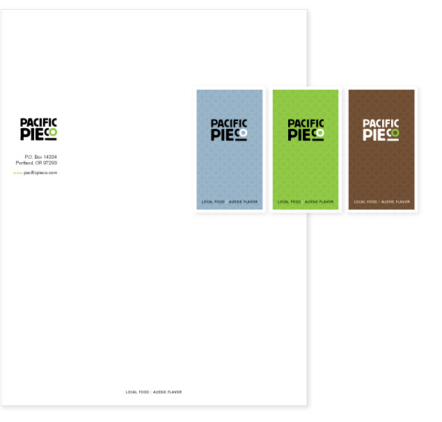 Pacific Pie Co Stationery