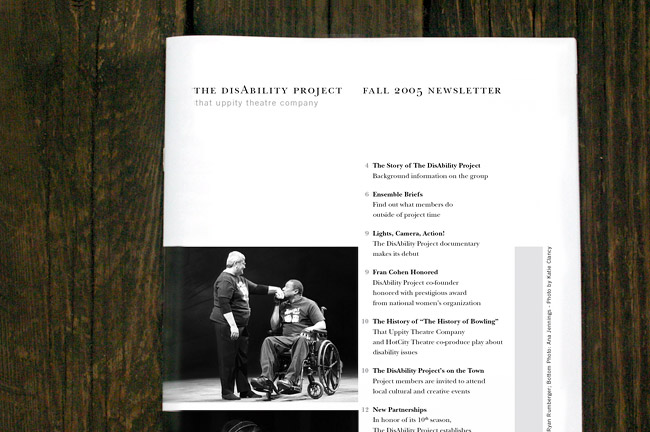 DisAbility Project Newsletter